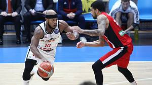 Košíkáři Nymburka hostili v dalším zápase Ligy mistrů v Praze Na Královce Hapoel Jerusalém.