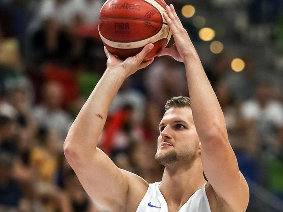 Basketbalový reprezentant Lukáš Palyza