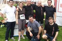 BĚHALI. Boxeři poděbradského oddílu podpořili dobrou věc a zúčastnili se Nymburského půlmaratonu