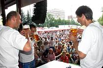 Den piva v nymburském pivovaru