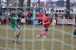 Z divizního fotbalového utkání Polaban Nymburk - Ostrá (1:3)