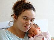 VIKTORIE Frintová se narodila v úterý 19. prosince 2017 v 10.30 hodin s mírami 51 cm a 3 490 g Denise Modrové a Lukášovi Frintovi z Poděbrad.