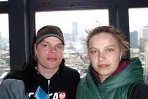 Členové týmu Vojtěch Říha a Veronika Vojtová