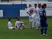 Z fotbalového utkání I.A třídy Český Brod B - Bohemia Poděbrady (1:1, na penalty 4:2)