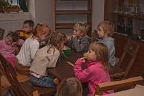 Děti se v muzeu učí o zemědělství