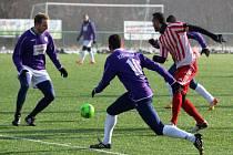 Z přípravného fotbalového utkání Vykáň - Zápy (2:3)