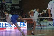 Z mistrovství světa v nohejbale, které se konalo v nymburském Sportovním centru
