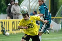 Ze zápasu krajského přeboru Litol - Beroun (0:2).
