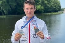 Kanoista Petr Fuksa se dvěma stříbrnými medailemi