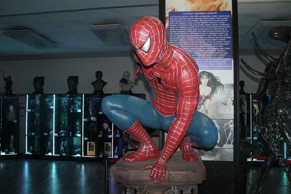 Film Legends Museum v Poděbradech nabízí jedinečnou výstavu.