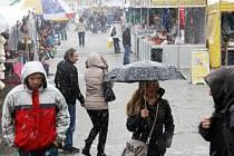 Trh na výstavě Exotika na lyském Výstavišti.