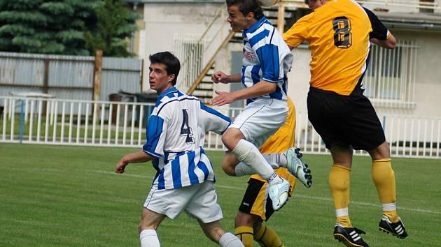Z divizního utkání staršího dorostu Union Čelákovice - Kutná Hora (0:1)