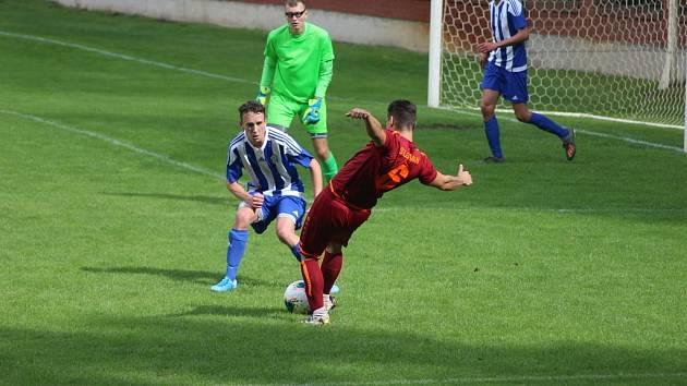 Union Čelákovice doma nastřílel pět gólů týmu Jesenice