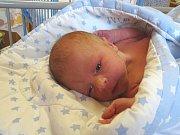 VÍT HOMOLA se narodil 27. prosince 2017 ve 20.47 hodin s výškou 50 cm a váhou 3 320 g. Z prvorozeného se radují rodiče Marek a Lenka z Nymburka.