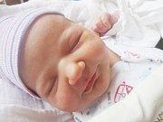 JOSEFA HUBÁČKOVÁ se narodila 5. ledna 2018 v 10.35 hodin s výškou 51 cm a váhou 4130 g. Doma v Nymburce se z ní radují rodiče Tereza a Michael a sourozenci Anna (11 let), Katka (9 let), Maruška (5 let) a Alžběta (2 roky).