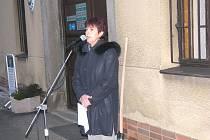 Současná starostka Sadské Cecilie Pajkrtová