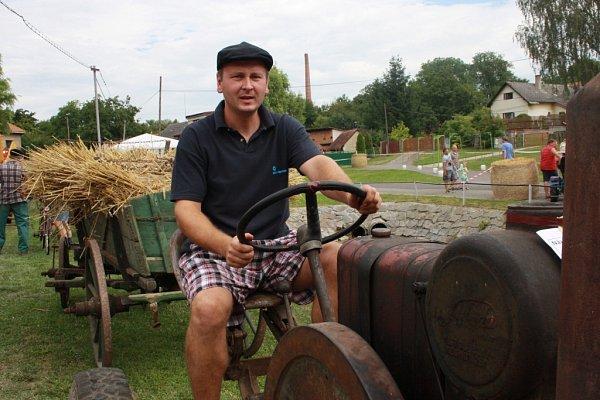 První traktoriáda vhistorii se konala vKošíku.