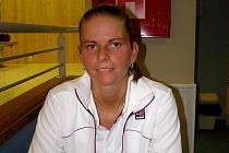 Sympatická Jana Šmeralová, devítinásobná mistryně republiky ve squashi, si zahrála v Poděbradech. Zde předváděla své umění, ale nyní se chce věnovat pouze trenérské činnosti