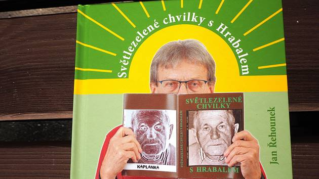 Přebal nové knihy od Jana Řehounka.