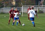 Z fotbalového utkání I.A třídy Bohemia Poděbrady - Union Čelákovice (2:0)