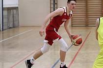 Mladý basketbalista nymburského klubu František Rylich