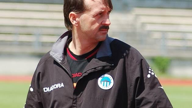 FOTBALOVÝ TRENÉR František Šturma získal angažmá jako hlavní kouč v druholigových slovenských Michalovcích