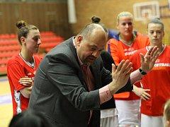 Daniel Kurucz, trenér nymburských basketbalistek