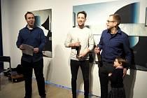 Galerie Ludvíka Kuby opět přichází s novou výstavou. Tentokrát se představuje jeden z představitelů nastupující malířské generace Lukáš Havrda. Foto: Milan Čejka