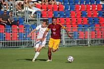 Z přípravného fotbalového utkání Bohemia Poděbrady - Dukla Praha U19 (2:3)