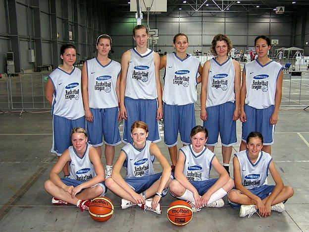 Reprezentantky nymburského gymnázia byly na Samsung Basketball League na pátém místě.