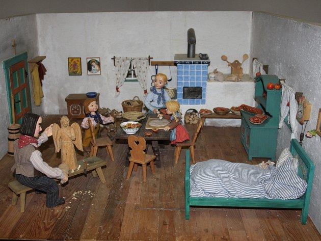 Výstava loutek Šárky Váchové v Polabském muzeu