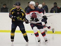 DOŠLI DO PLAY OFF. Před sezonou se dali poděbradští hokejisté za cíl dostat se do vyřazovacích bojů. To se jim povedlo, trenér David Kubát tak mohl hodnotil sezonu jako úspěšnou.