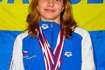 Jolana Hojsáková získala na mistrovství republiky pět zlatých medailí
