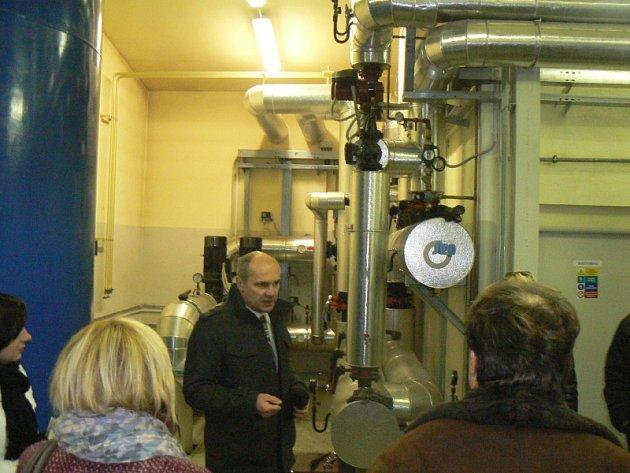 Současná bioplynová stanice v Kněžicích