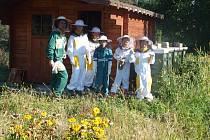 O přírodě se děti učí ve školní ekozahradě