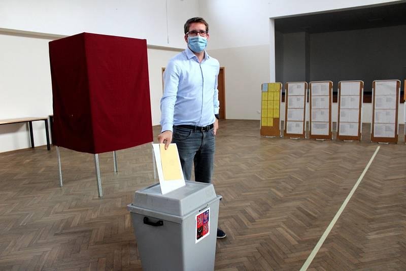 Z krajských voleb 2020 na Nymbursku.