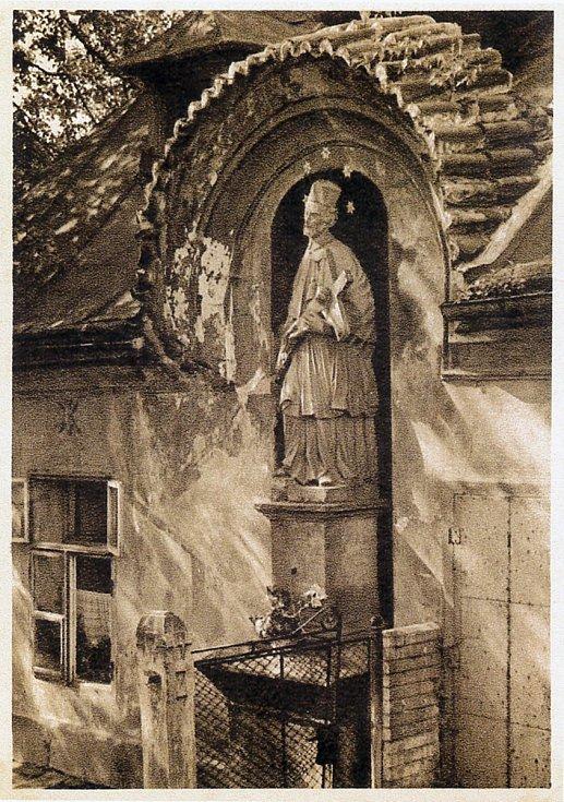 Socha sv. Jana.