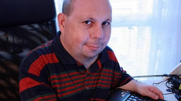 Mluvčí nymburské nemocnice Tomáš Cikrt.