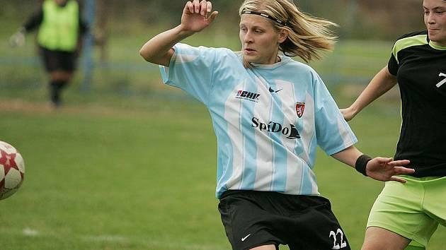Starolyská útočnice Jana Červeňáková dala všechny tři góly svého týmu