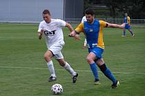 Z fotbalového utkání okresního přeboru Bohemia Poděbrady B - Všejany (2:1)
