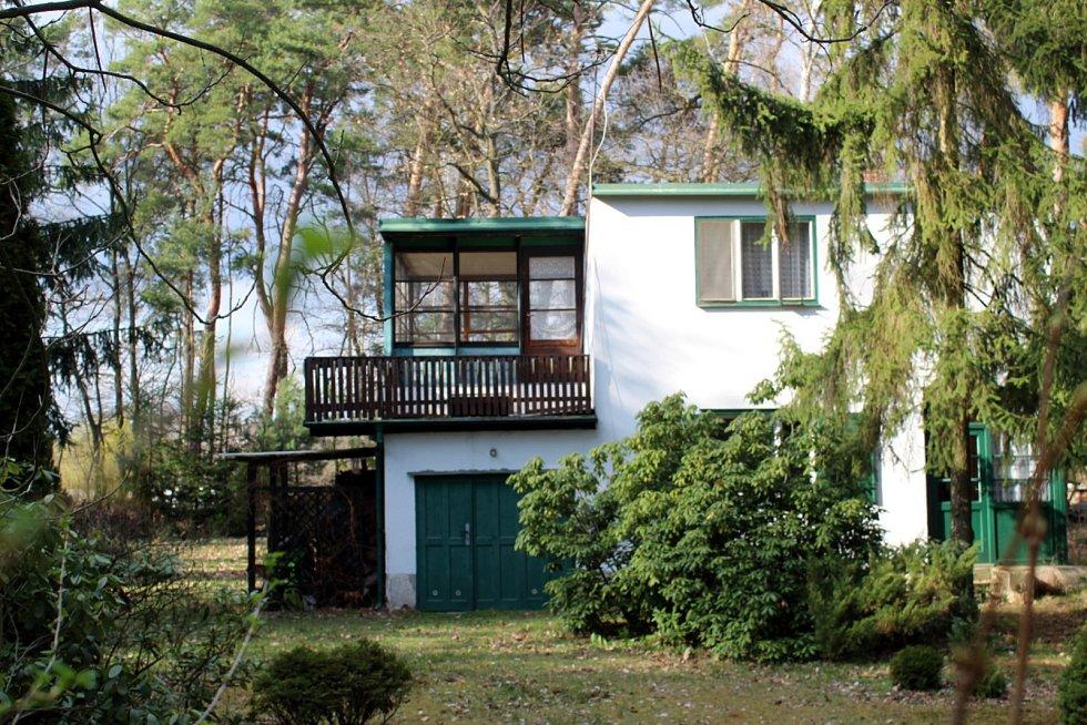 Chata Bohumila Hrabala.
