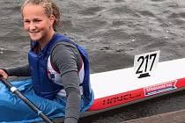 Barbora Válková, závodnice Lokomotivy Nymburk