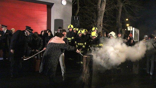 Ve Velkém Zboží otevřeli rozšířenou hasičskou zbrojnici