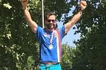 ZLATO. Na mistrovství Evropy vybojoval závodník Lokomotivy Nymburk Ondřej Petr první místo.