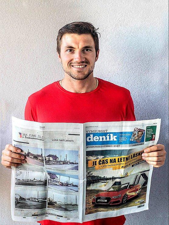 Martin Fuksa, ambasador Nymburského deníku
