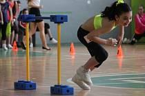 Nela Dobiášová na Dívce aerobiku v Blansku