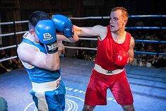 Galavečer boxu v Poděbradech nadchl přítomné diváky