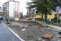 Dokončení rekonstrukce vozovky u MŠ Pampeliška