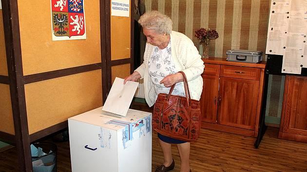 Volby na Nymbursku v roce 2019.