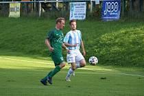 Z fotbalového utkání I.B třídy Semice - Býchory (2:2)